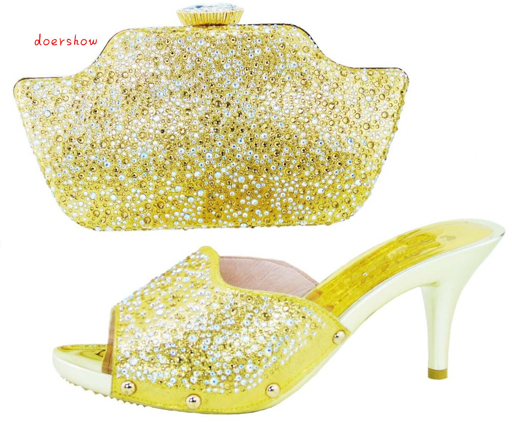 Italian Shoes with Matching bags For party african Shoes And Bags to match set high quality matching shoe and bag!doershow YN1-4 italian shoes with matching bags for party new arrival african shoes and bag set good quality high heels for lady eth16 60