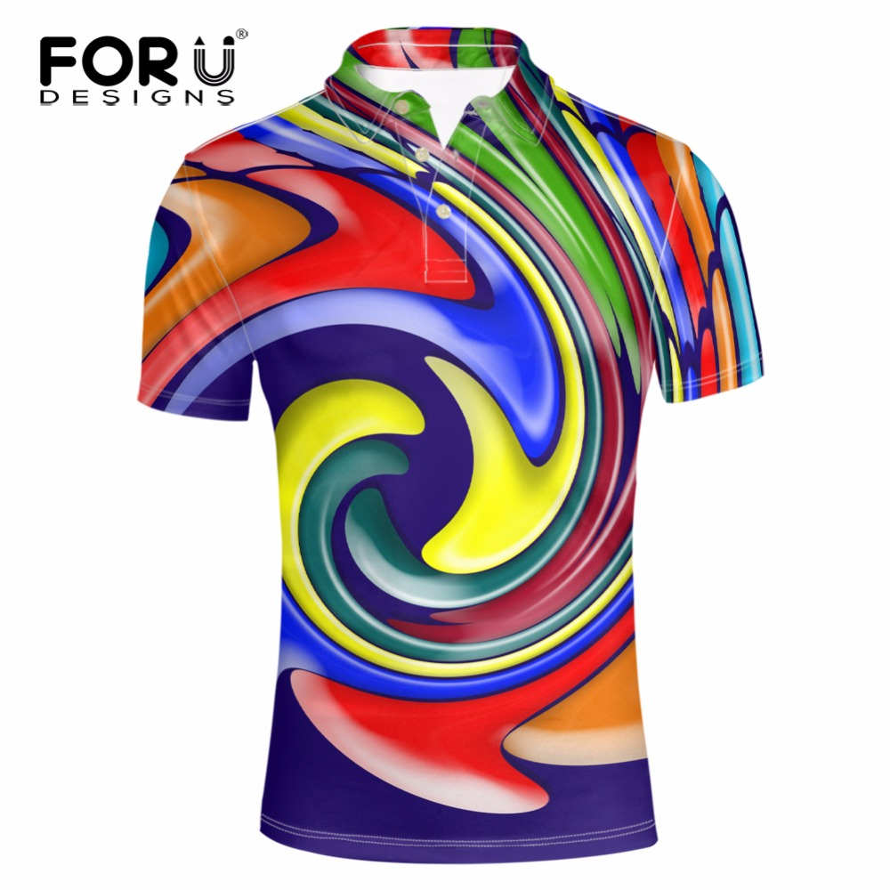2015 new real camisa solid polo shirt mens fashion cool design short - Forudesigns Hot Fashion Men S Short Sleeve Colorful Polo Shirt High Quality 2017 Male Comfortable Cool Design Polo Shirts Male