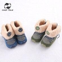 Winter 2019 Baby Boys Girls Keep Warm Shoes First Walkers Sneakers Kids Crib Infant Toddler Footwear Solid Boots Prewalkers