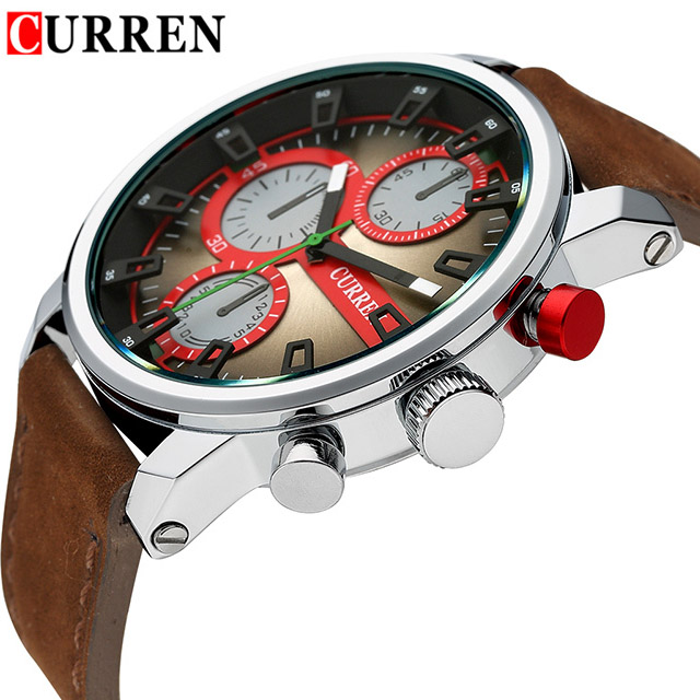 Curren Luxury casual men watch analog military sports watch quartz male wristwatch relogio masculino montre homme Drop shipping mens stainless steel band watch with big round dial male analog quartz metal sports wristwatch relogio masculino montre homme