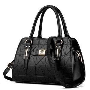 Image 1 - Vendita calda moda donna borsa in pelle inclinata femminile fiocco nodo borse a tracolla borse Lady Shopping Tote borsa a tracolla morbida Sac