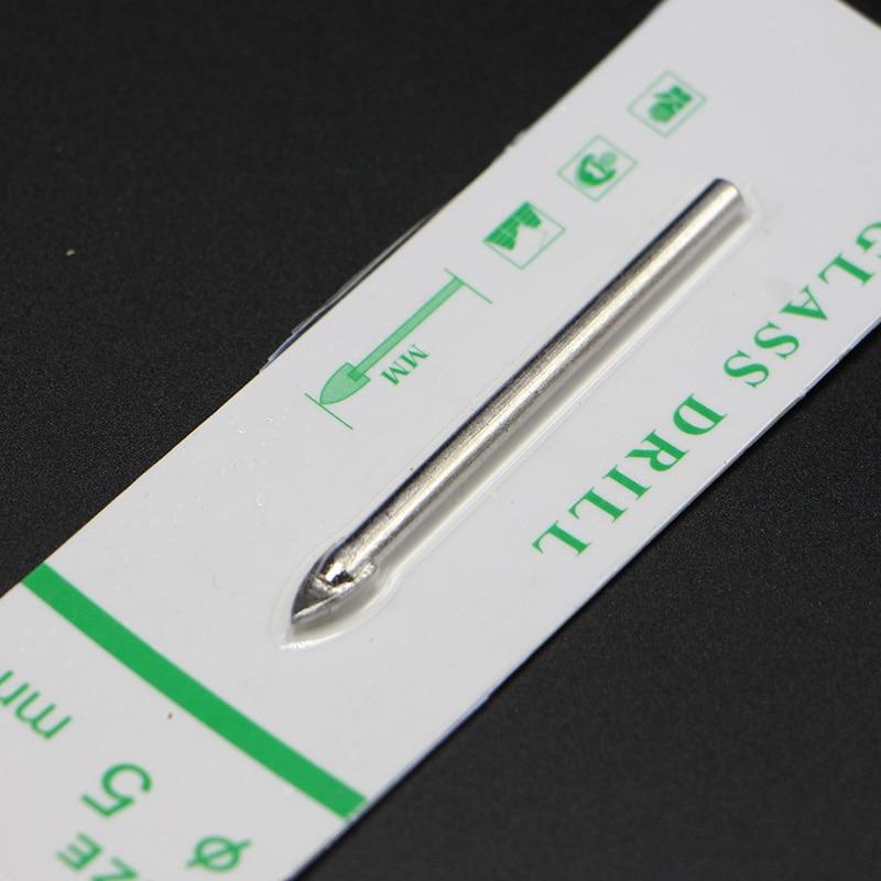 10 шт./лот 5 мм стекло сверла пил буровое оборудование для жесткого квазихрупких керамические материалы могут быть использованы на обычный молоток