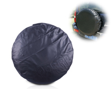 beler 1Pc universal Spare Wheel Tire Tyre Soft Cover 33 pure black Size XL LT255 75R
