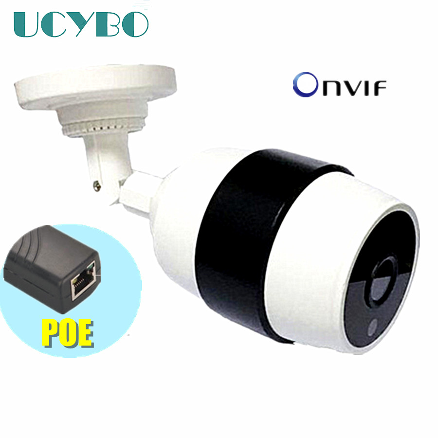 CCTV 720P HD ip camera 1mp outdoor IR night vision security waterproof mini bullet p2p megapixel onvif network POE IP Cam XMEYE h 264 1mp hd 720p ip camera poe outdoor ip66 network 1280 720 bullet security cctv camera p2p onvif night vision 40m ip camera