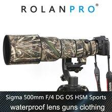 ROLANPRO SIGMA 500mm F/4 DG OS HSM Sports Protective Case Guns Clothing SLR Cotton Clothing and Nylon Guns Clothing