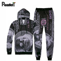 Men sweat suits fashion 3D Dollar hoodies sweatshirt Mens casual suit hip hop hoodie tracksuit