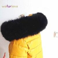 2017直接販売大人のファッション冬リアルフォックス毛皮の襟女