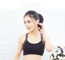 Dry Sports Women Padded Wirefree Adjustable Shakeproof Fitness Tops