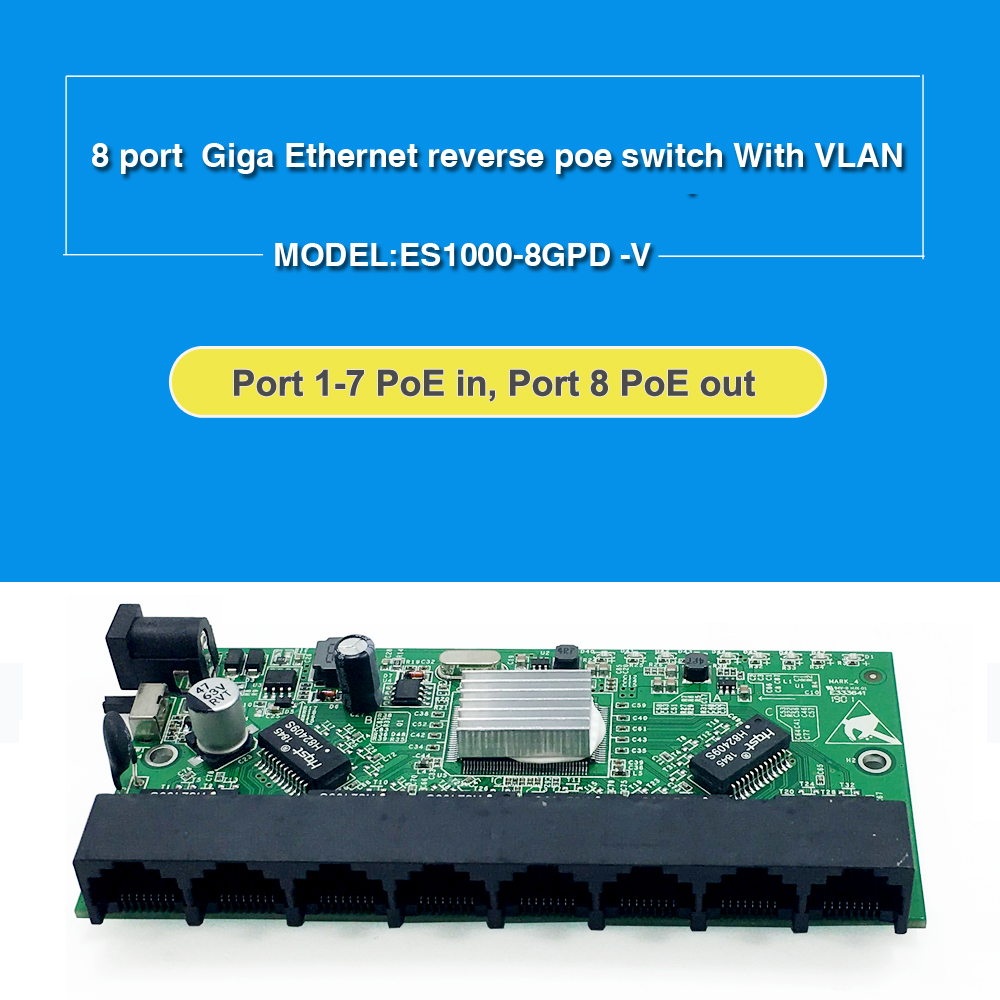 Image 2 - GPON/EPON SOLUTION SUPPLIER With VLAN 8 port 10/100M and 