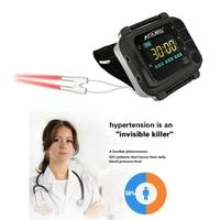 High Blood Sugar Control Therapy Laser Watch Diabetes Rhinitis Cholesterol Hypertension High Blood Pressure Laser Acupuncture