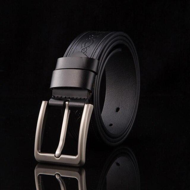 Hot Sale !!!Classic Design Fashion men Leather belt high quality men Belt belts for men waist for male strap for man