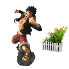 купить Anime One Piece Monkey . D . Luffy Cartoon Model Doll PVC Action Figure Toy for Children Collection Birthday Gift дешево