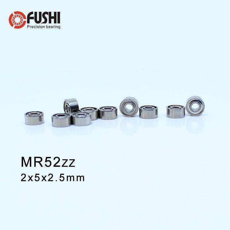 10 Pcs 5x10x4mm MR105zz Metal Double Shielded Ball Bearing Bearings 5*10*4
