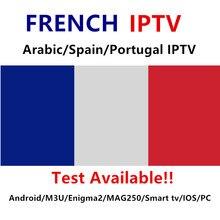Французский IPTV арабское IPTV Испания IP ТВ португальское IPTV M3U подписки Поддержка Android M3U Enigma2 MAG250 IOS Smart ТВ PC