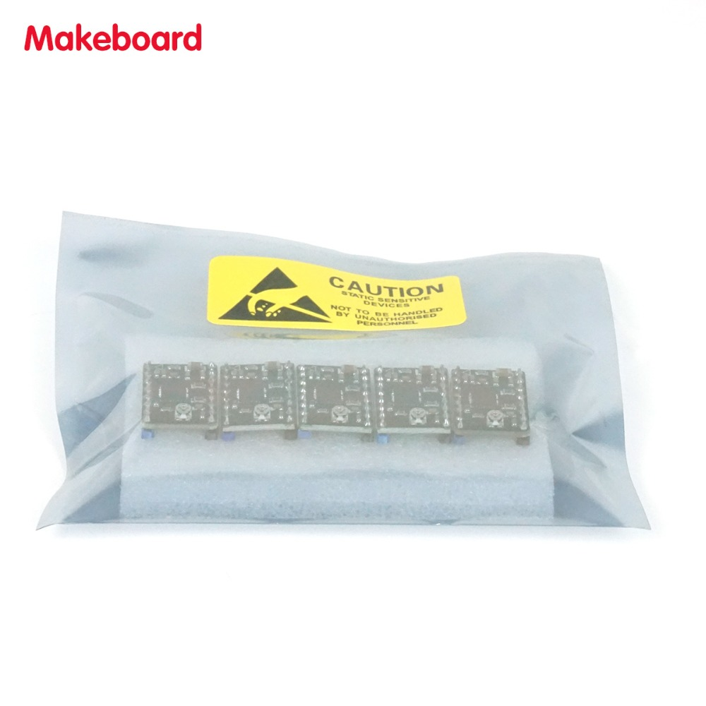 Micromake Piezas de La Impresora 3D 5 unids/lote Makeboard Apoyo 128 Microstep 8