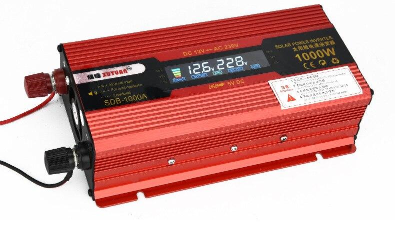 цена на 600W(surge power 1000W) Car Power Inverter Adapter Converter with LED Display DC12V to AC110V 60HZ