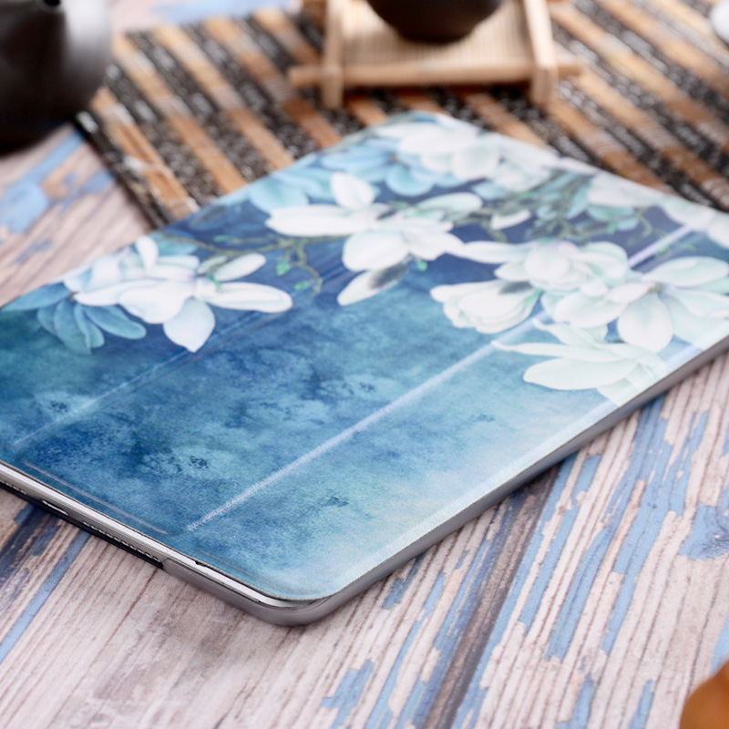 Magnolia pu Funda Inteligente para iPad Pro 9.7 10.5 11 12.9
