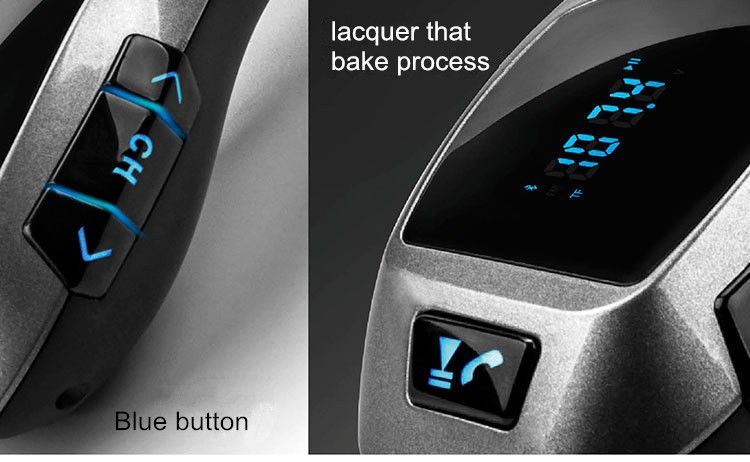 2016 X5 Bluetooth Handsfree FM Transmitter Car Kit MP3 Music Player Radio Adapter Work with TF Card U Disk For Smartphone (12)