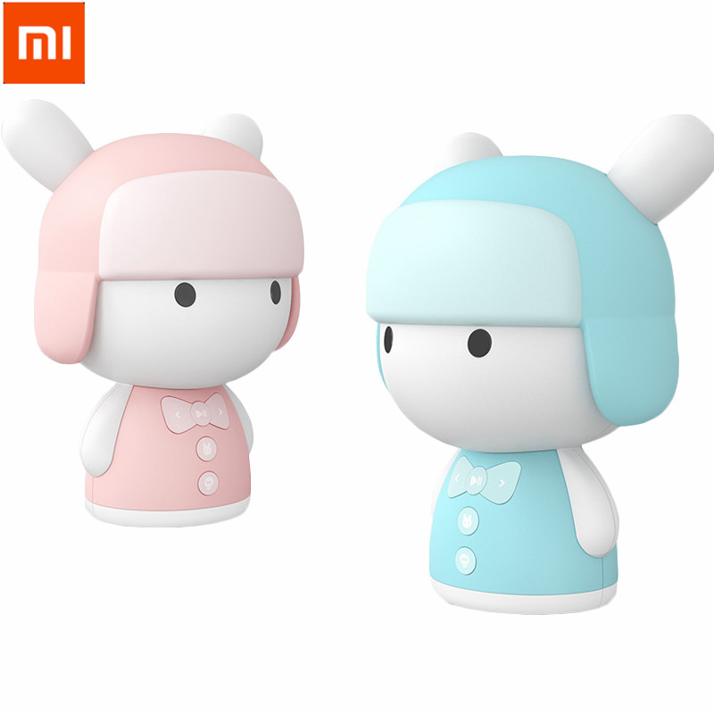 Xiaomi Mitu Mini White Noise Baby Good Sleep Story Robot Pink/Blue Chinese Language Preschool Educational Robot xiaomi mitu intelligent story robot fairy tale happy children s songs english enlightenment rabbit brinquedos educativos