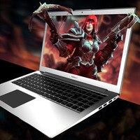 Ноутбук P10 15,6 дюймов Intel i7 6500 4 ядра 2,5 ГГц 3,1 ГГц 128/256/512G SSD Высокоскоростной дизайн игровой ноутбук