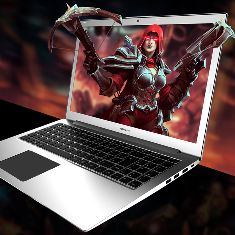 P10 Laptop 15.6 inch Intel i7 6500 Quad Core 2.5GHZ 3.1GHZ 128/256/512G SSD High speed Design Gaming Laptop Computer notebook-in Laptops from Computer & Office