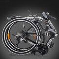 High Quality Mountain bike 21speed double damping double disc brake folding bike 26 inch Suspension Man Bicycle 26