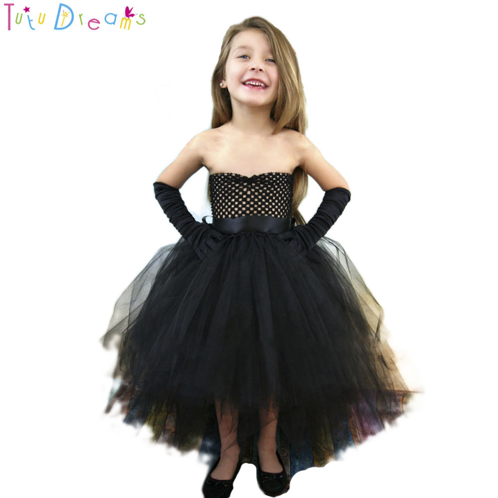 Halloween Girls Dress Princess Summer