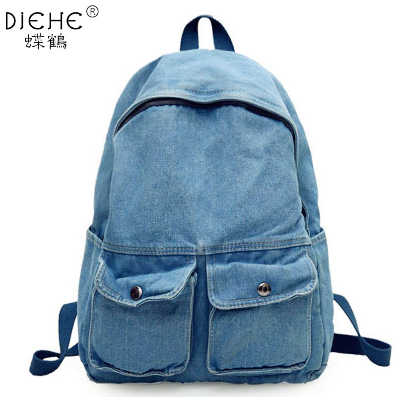 Fashion Washing Water Canvas Backpack Shoulder Bag Men and Women Simple Leisure Backpack High School College Students School BagFashion Washing Water Canvas Backpack Shoulder Bag Men and Women Simple Leisure Backpack High School College Students School Bag