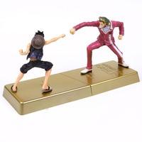 Anime One Piece DXF Film Gold MANHOOD 2 Monkey D Luffy VS Gild Tesoro PVC Figures