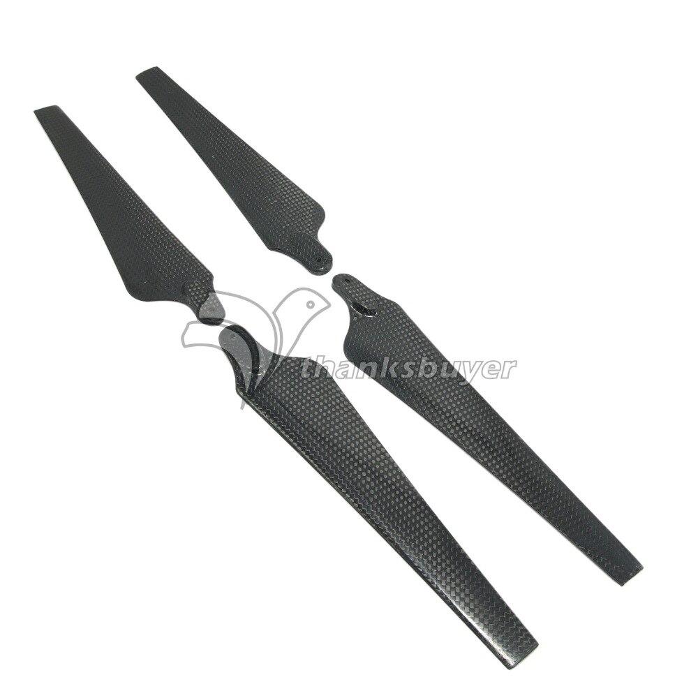 1852 18 5 2 18 inch Carbon Fiber Folding CW CCW Propeller Prop 1 Pair for