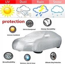 X Autohaux универсальные автомобильные Чехлы, крытые, уличные, водонепроницаемые, защита от солнца, снега, пыли, дождя, защитная крышка для внедорожника, седана, грузовика