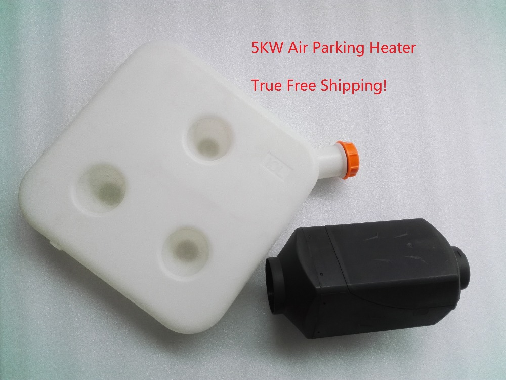 Free Shipping 2017 Best 5KW Air Parking Heater 10L Diesel Fuel Tank For Car Truck Bus