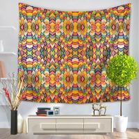 Yellow Bohemian Tapestry Mandala Hippie Decor Wall Hanging Beach Towel Indian Yoga Mat Bedspread Table Cloth arazzo da paretes