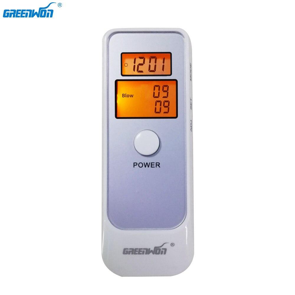 GREENWON alcootest analyseur d'alcool détecteur numérique LCD testeur d'alcool respiratoire