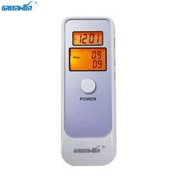 Analizador de alcohol GREENWON Detector Digital LCD Alcohol prueba de aliento