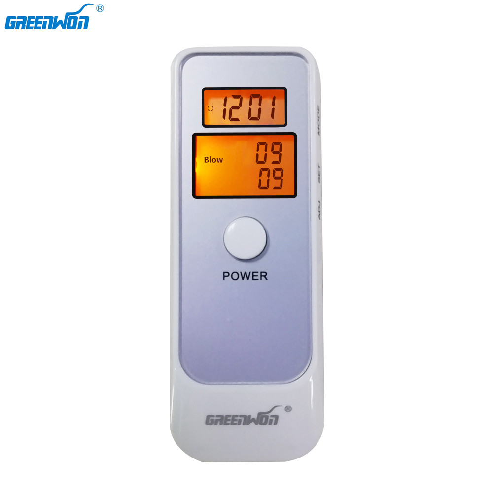 GREENWON alcoholímetro analizador Detector Digital LCD alcoholímetro