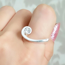 Symbol Of Music Inlay Small Zircon Ring For Women Fashion Jewelry 2017 Female Accessories In Gift Box ALW1507
