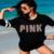 Venda quente 2017 moda primavera casual mulheres t-shirt de paetês rosa do amor do coração tops forma bonito t-shirt de manga longa clothing