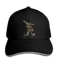 e6d4b4c622 Hip hop bonés de Beisebol chapéu Da Forma Legal KR Rei de Spa Ouro  Personalizado Impresso snapback