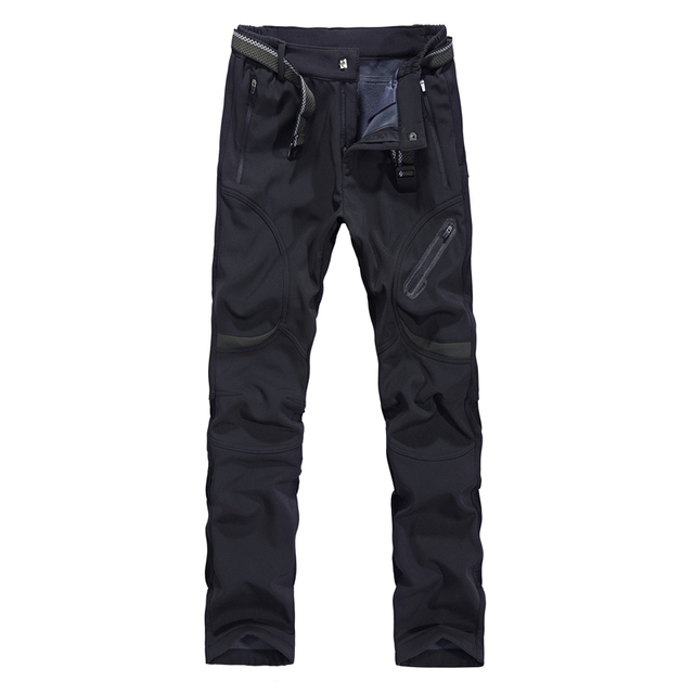 Mens Winter Pant Thick Warm Cargo Pants Casual Outwear Pockets Trousers Plus Size 9XL8XL Fashion Loose Baggy Pant for Worker Men 2