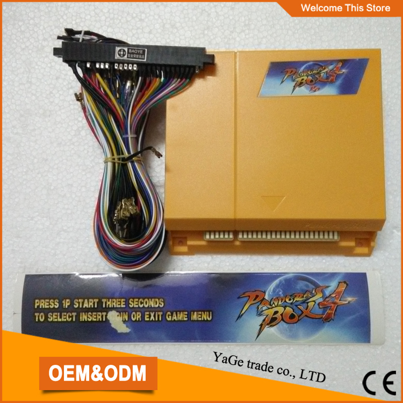 Jamma multi game pcb board 645 in 1 Just Another Pandora's Box 4 VGA game for arcade game machine