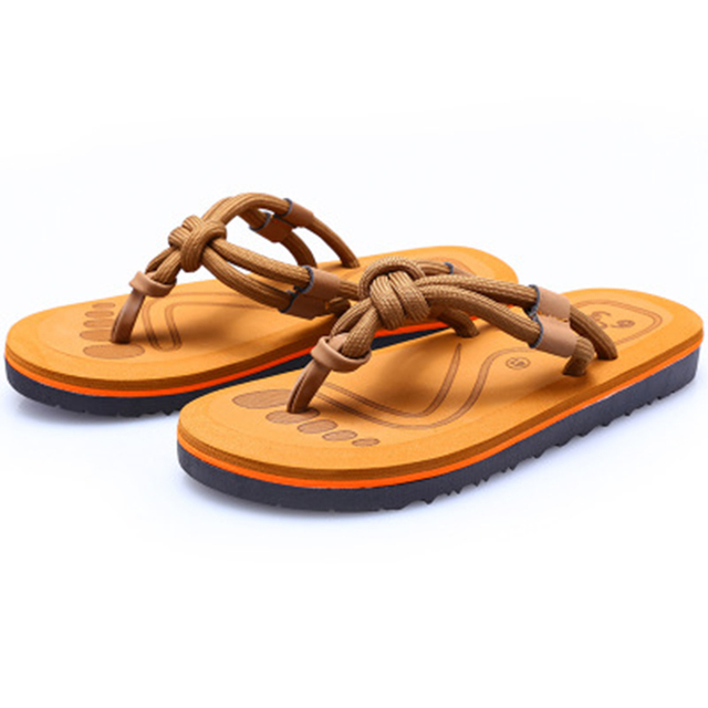 Zapatillas Hombre 2018 New Tide Brand Slippers Male Summer One Piece Men's Flip Flops Fashion Eva Outdoor Beach Sandals And 58