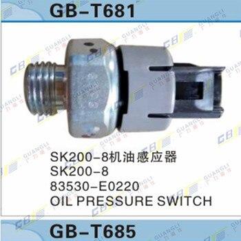 Kobelco SK200-8/210/250/260/330/350-8 Olie Druk Sensor
