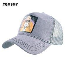 2f3eaca98 TQMSMY Unisex Anime Cartoon lato męska Trucker kapelusz kobiet czapka z  daszkiem mężczyźni snapback kapelusze dla