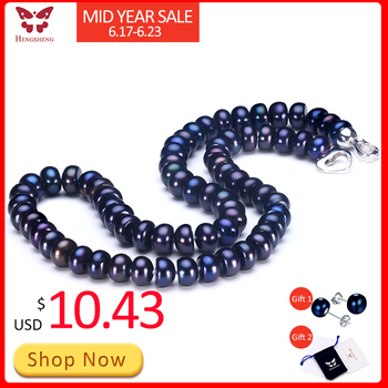 2019 Amazing New Real Black Pearl Jewelr...