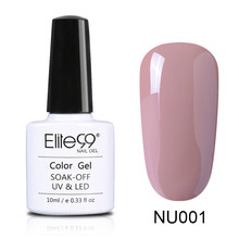 Elite99 10ml Gel Polish Pink Purple UV Colored Nail Polish Gel Varnish Long-lasting Soak Off Gel Lacquer Nail Polish