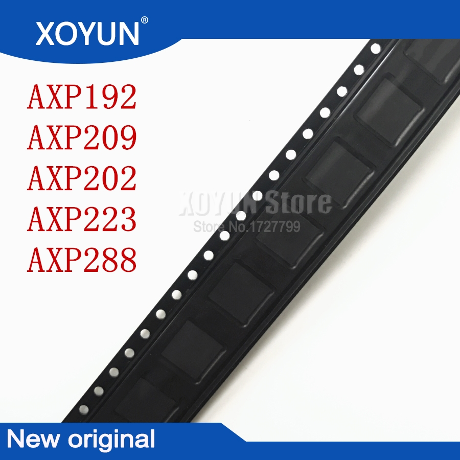 5pcs/lot  100%New AXP192 AXP209 AXP202 AXP223 AXP288 QFN