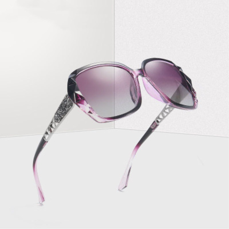 2019 New Luxury Polarized Large Frame Designer Sunglasses Women 39 s High Quality Fashion Mirror Sunglasses Women 39 s Brand UV400 in Women 39 s Sunglasses from Apparel Accessories