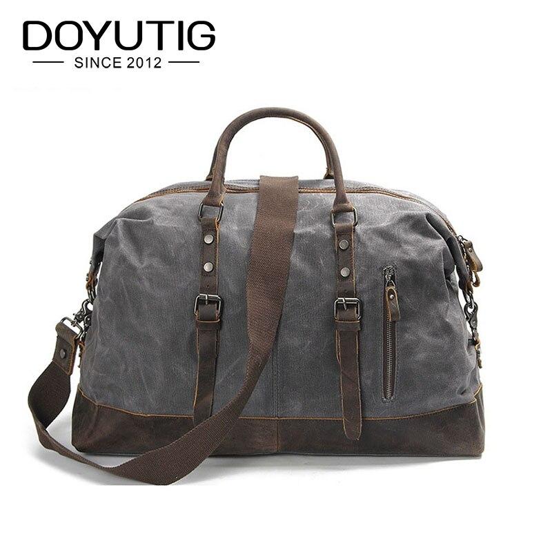 Mode voyage sacs grande capacité hommes et femmes toile bagages sacs voyage sacs à main pour voyage sacs décontractés grand week-end sacs G024