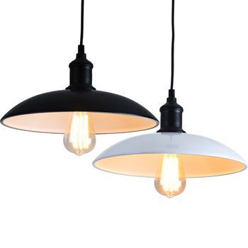 Simples do vintage pendurado luz industrial ferro abajur luminária para sala de jantar quarto loft decoração